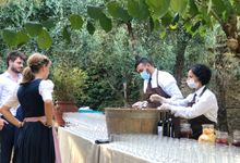 Real wedding by Le Cirque Firenze