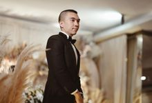 Ezron Tarigan wedding by ARLO Tailor