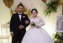 Romantic Bridal Look by Aisya Argubi