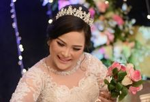 Romantic Bridal Look by Aisya Argubi