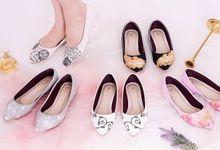 Sepatu Flats Lukis Frosty Silver by SLIGHTshop.com