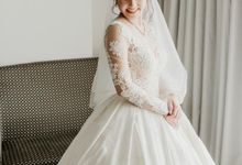 Brandon & Devlyn - Wedding Day by Elina Wang Bridal