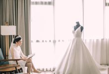 Intimate Wedding - Ivan & Shanty by Elina Wang Bridal