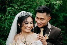 The Wedding of Evan - Giovanna by Blooming Faith