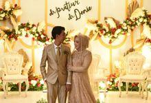 Wedding dress by Hanitairwany Fashion Designer