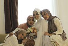 the wedding Dina & Tofan by Point One Wedding Organizer