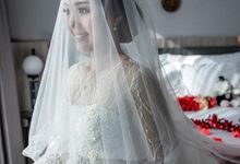 Wedding Of Dera & Marchia by Elina Wang Bridal