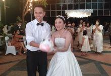 the wedding siska & krishna by Point One Wedding Organizer