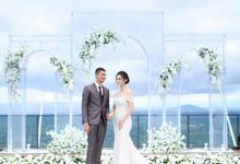 Intimate Wedding In Era New Normal by Ventlee Groom Centre