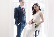 The Wedding of Tedy - Rikka by Blooming Faith