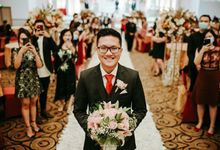 The Wedding of Ivan - Novi (Resepsi) by Blooming Faith