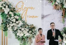 Wedding Of Steven & Ariana by MC Samuel Halim