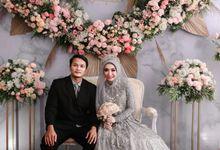 Intimate Wedding by Rosepetal Backdrop