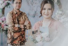 Engagement Rafa & Ical by Rosepetal Backdrop