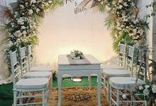 Wedding Fitri Dan Huda by ARL Decoration
