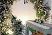 Wedding Fitri Dan Huda by ARL Decoration