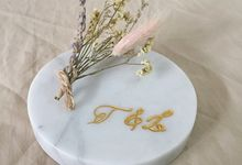 Customized Wedding Marble Decoration by De Marble