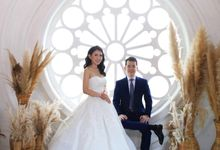Wedding Of Edwin & Margareth by Elina Wang Bridal