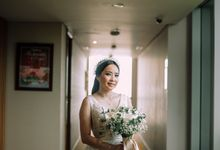 Wedding Of Andre & Octaviana by Elina Wang Bridal