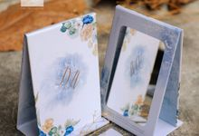 Mirror Wedding Invitation - DEWI & ARIAWAN by Jogja Wedding Net