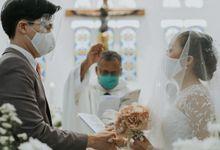 Pemberkatan Pernikahan by Rosepetal Backdrop