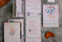 Mirror Wedding Invitation - RENDY & GADIS by Jogja Wedding Net