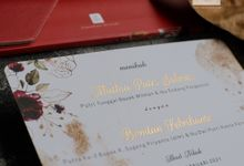Photo Frame Wedding Invitation MUTHIA & BONDAN by Jogja Wedding Net