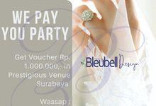 Paket Engagement & Wedding Dekor by Bleubell Design
