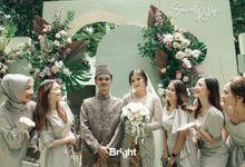 The Wedding Of Sarah & Rifqi by Beblooms Wedding