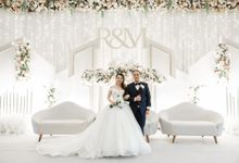 Wedding Of Roswell & Mega by Elina Wang Bridal