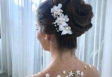 Bride Updo by nofimua