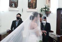 Wedding Of Rangga & Maria by Elina Wang Bridal