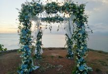 Intimate Wedding Couple 27 April 2021 by Bali Bless Florist