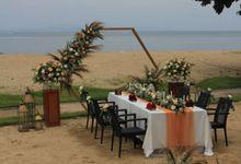 Intimate Dinner of Phiya and Benhurd Wedding by CITTA Wedding
