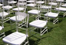 Clear Tiffany Chair by acrylicchairs.rent