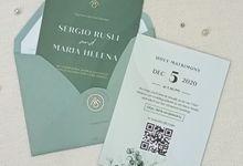 Wedding Invitation Of Sergio Maria by Prima Card
