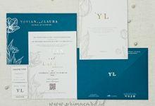 Wedding Invitation Off Yovian laura by Prima Card