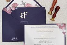 Wedding Invitation Of Alexander Fransisca by Prima Card