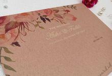 Wedding Invitation Of Aisha Fadhli by Prima Card