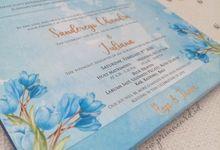 Wedding Invitation Of Rego Junna by Prima Card