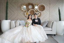 Wedding Of Chandra & Winda by Elina Wang Bridal
