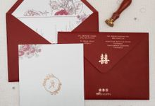 Wedding Invitation Of Jonathan Adriana by Prima Card