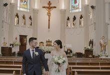 Wedding Of Kevin & Monica by Elina Wang Bridal