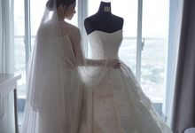 Wedding Of Willy & Novia by Elina Wang Bridal