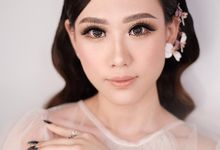 Wedding Makeup with AIRBRUSH by AngeLin Bridal