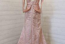 Custome Gown by L E U R A Bride