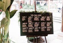 Black Marsala Wedding at Magical Ubud by Delapan Bali Event & Wedding