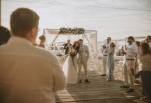 Dayany & Wisam Beach Wedding by Fashion Moments Eventos