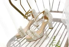 Our latest bridal collection - October by Aveda Footwear