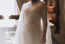 Mega's Wedding by MIMI Fashion Designer